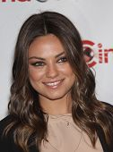 LAS VEGAS - APR 25:  MILA KUNIS arrives for the Cinema Con 2012-Disney Luncheon  on April 25, 2012 i