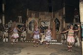 Zulu dancers