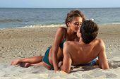 Guy Kiss His Girlfriend