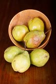 Bartlett Pears And Bowl