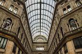 Galleria Umberto Primo, em Nápoles