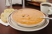 Creamy Gouda Bisque With Chicken