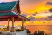 KOH KHO KHAO, THAILAND - NOV 16: Oriental Architecture of Andaman Princess Resort & SPA. Hotel was destroyed by tsunami in 2004 and rebuild, Koh Kho Khao island, Phang Nga in Thailand on Nov.16, 2012.