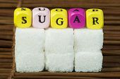 Sugar Lumps And Text