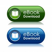 E-book download ícones