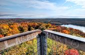 Fall View From Dorset Tower Lookout
