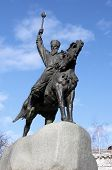 stock photo of hetman  - monument to Petro Konashevych - JPG