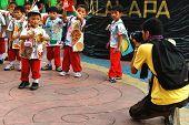 Photographer Shooting Children