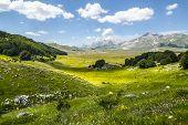 Landschaft des Campo imperatore