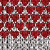 Love sweater, vector eps10 illustration
