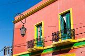 Colourful house in La Boca