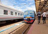 Nizhny Novgorod, Russia - July 1: Platforms In Moskovsky Rail Terminal On July 1, 2012 In Nizhny Nov
