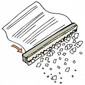 An image of a paper shredder.
