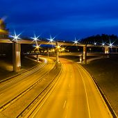 New Viaduct in Vilnius, Lazdynai (Lithuania)