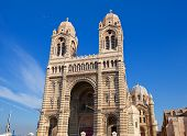 Front View Of Marseilles Cathedral (xix C.)