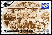 Post Stamp From Tuvalu