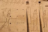 Temple of Edfu Facade Carvings