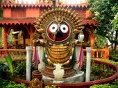 foto of jagannath  - indian temple - JPG
