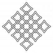 Celtic Knots Fences Pattern