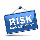stock photo of policy  - risk management and insurance policy safety first sign or icon - JPG
