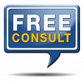 free consult or help and information desk optimal customer support Gratis consultation service and advice.