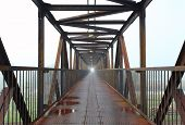 Steel Bridge For People