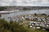 Panorama Of Puerto Montt.