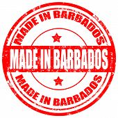 Made In Barbados-stamp