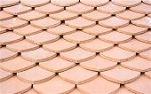 Clay tiles roof