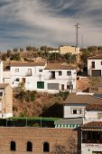 Setenil De Las Bodegas Is One Of The Pueblos Blancos (white Villages) Of Andalucia, Spain,
