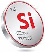 silicon button