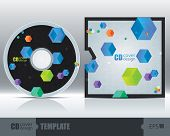 Cd Cover Design Template Set 3
