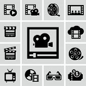 Film pictogrammen