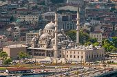 New Mosque In Istanbul Turkey