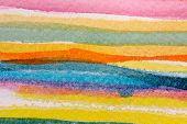 Colorful Watercolor Stripes 4