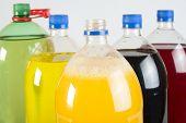 Carbonated Drinks In Plastic Bottles