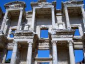Library Of Celsus In Ephesus Turkey