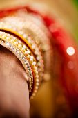 decorative bridal bangles