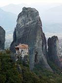Landscape Of  Meteora's Monastery