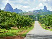 Namapa, Mozambique - 6 Desember 2008: Amazing, Beautiful Scenery.