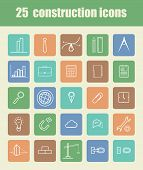 25 Construction Icons