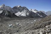 Glacier Khumbu, Himalayas, Nepal
