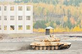 Modernized tank T-90S