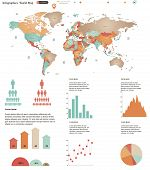 World Map Infographics.eps