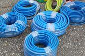 Blue Hoses