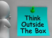 Think Outside The Box Means Different Unconventional Thinking