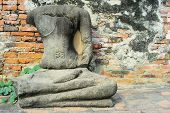 Buddha Statue Without Head
