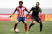 CARSON, CA - APRIL 6: Chivas USA F Erick Torres (9) during the MLS game between the Los Angeles Gala
