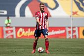 CARSON, CA - APRIL 6: Chivas USA D Eriq Zavaleta (22) during the MLS game between the Los Angeles Ga