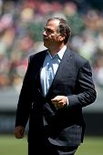 CARSON, CA - APRIL 6: Los Angeles Galaxy head coach Bruce Arena during the MLS game between the Los